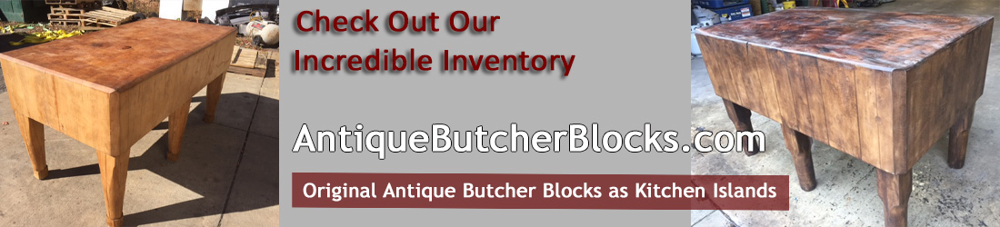 Antique Butcher Blocks Logo