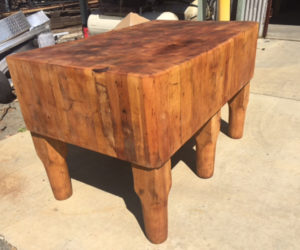 Antique Butcher Block