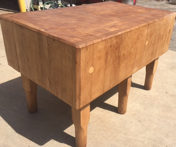 Historic Butcher Block Tables